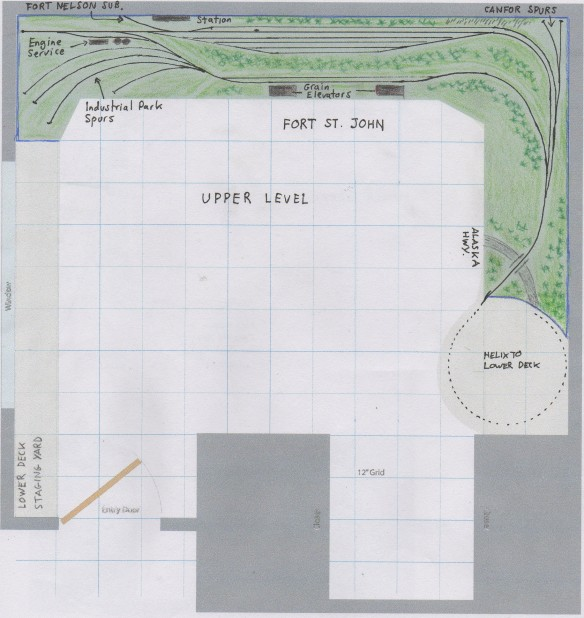 large n scale track layouts