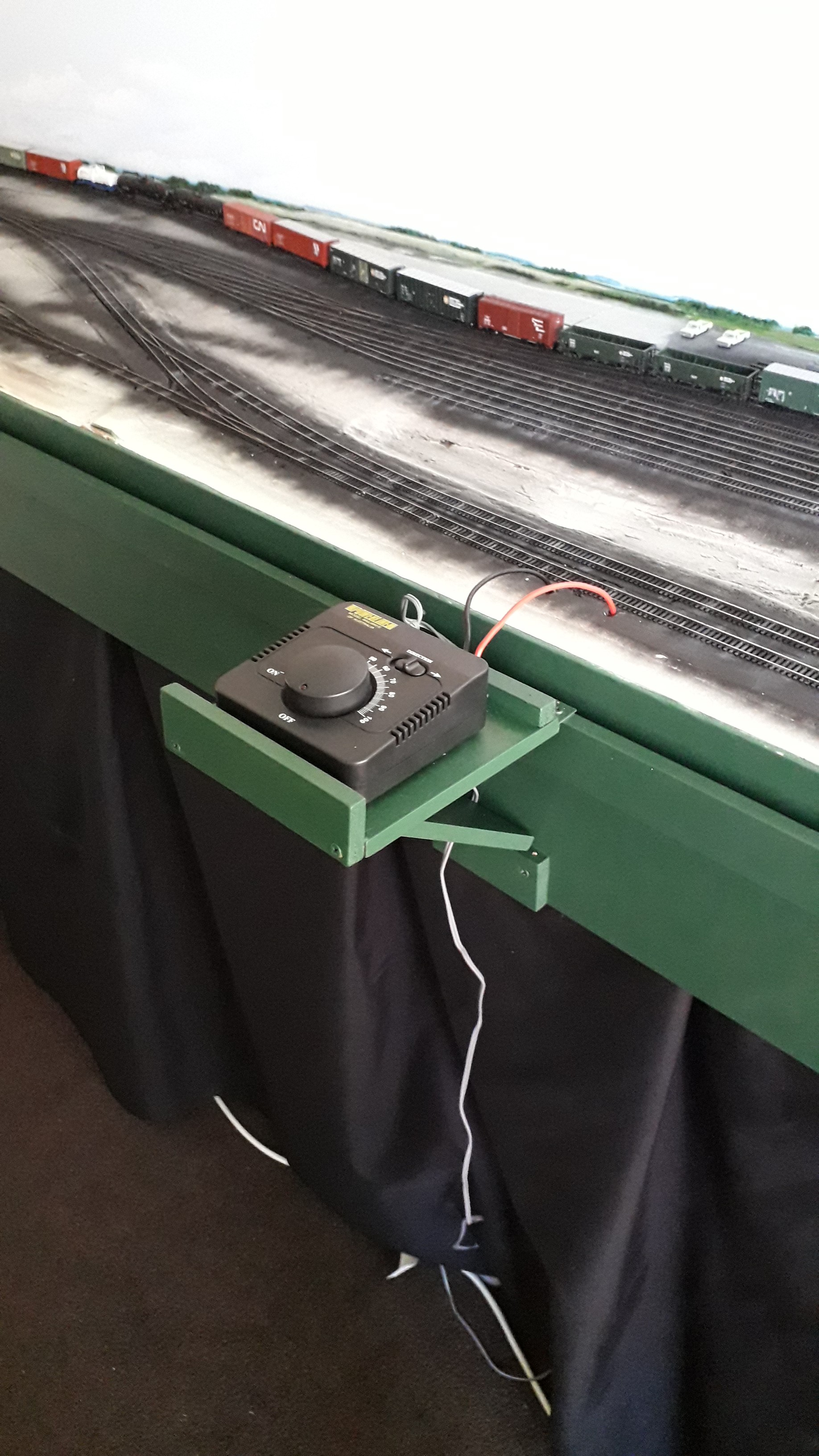 British Columbia Railway Fort St John Subdivision In N Scale The Gauge Track Wiring Dcc Best Practice For Is To Make Sure Every Piece Of No Matter How Short Has Its Own Set Feeders I Followed This And Result Was